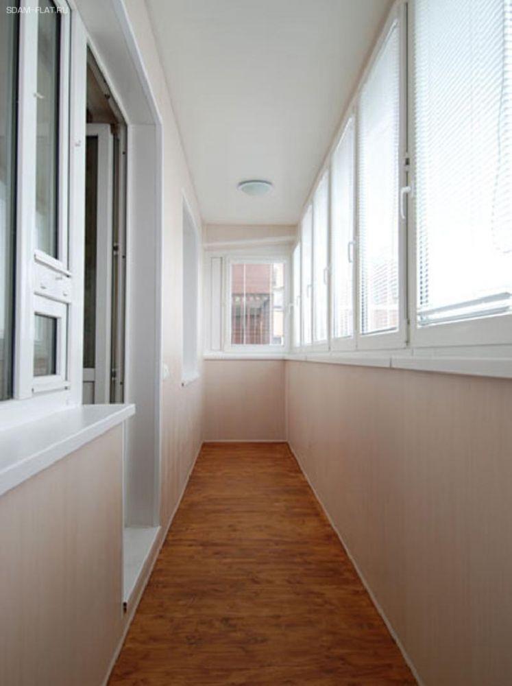 Отделка балконов и лоджий, панели пвх, настенные панели в ве.